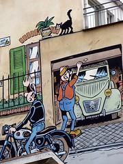 Lucien & les copains (Jean (tarkastad)) Tags: tarkastad 2cv bestioles charente chat cat france 😻