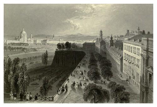 025- Viena desde los bastiones 1844
