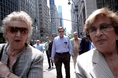 SHADES (joewig) Tags: nyc people urban faces streetphotography shades fifthavenue ricohgrd