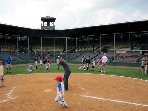 Rickwood Field Hayden up to bat