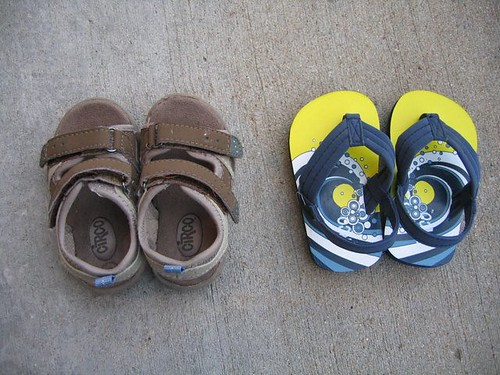 Size 5 Circo sandals and slippers