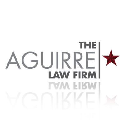 The Aguirre Law Firm - Logo design by TheLogoBoutique.com