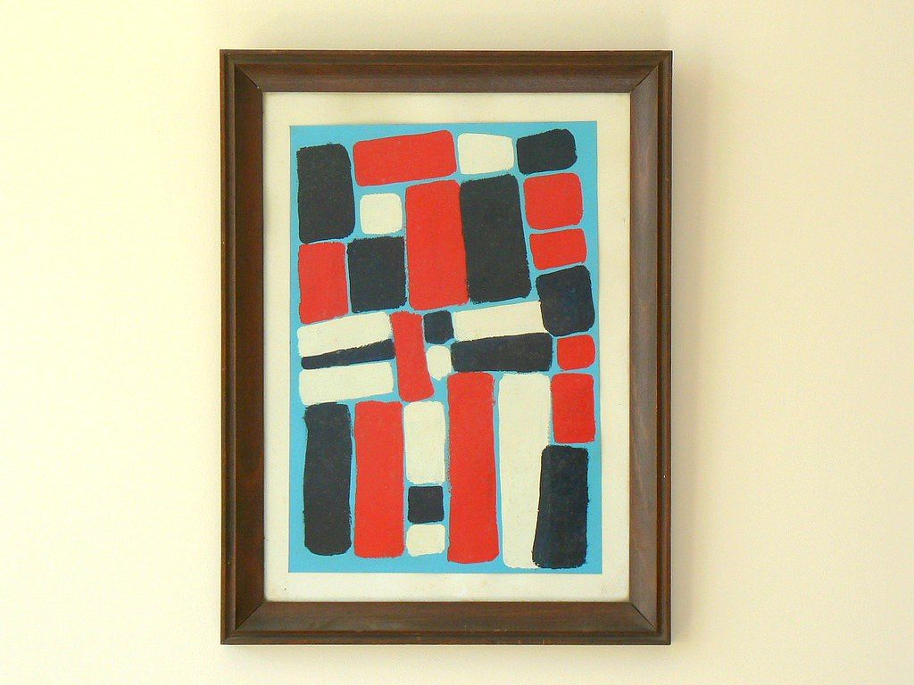 abstrait abstract jacques bernard tags blue abstract france art colors bernard modern - Tableaux Modernes Colors