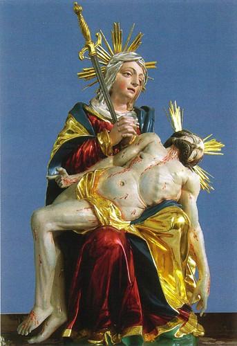 Pietà aus der 1. Kapelle von 1674, CH-9033 Untereggen