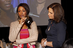 Malaak Compton-Rock speaks with Soledad O'Brien at Women's eNews 21 Leaders for the 21st Century event by webmamma5000