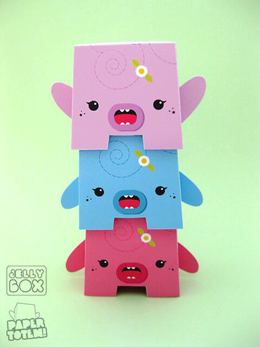 Paper Totem! x Jellybox