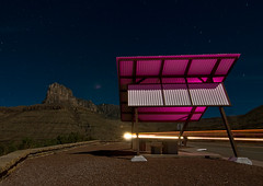 Guadalupe Pass (Noel Kerns) Tags: mountains night texas el stop rest guadalupe capitan