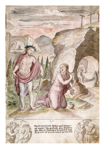 016- Primera aparicion de Jesus- De Aetatibus Mundi Imagines