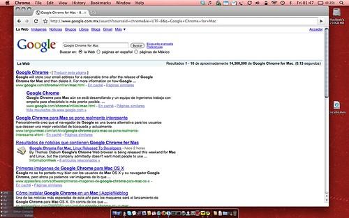 Google Chrome for Mac by [ebarrera].
