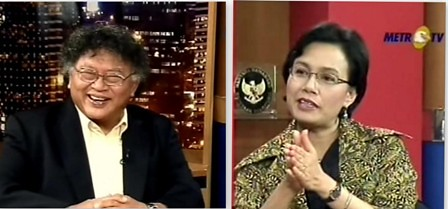 Wimar Witoelar & Sri Mulyani