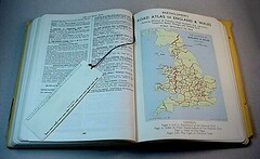 Inside AA ROAD BOOK of ENGLAND and WALES