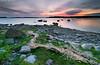 Chain of straws (Rob Orthen) Tags: sunset sea sky rock suomi finland landscape nikon rocks europe dusk scenic straw rob tokina 09 nd scandinavia 06 meri maisema vesi kesä pinta d300 gnd 1116 nohdr orthen leefilters roborthenphotography tokina1116 tokina1116mm28 seafinland