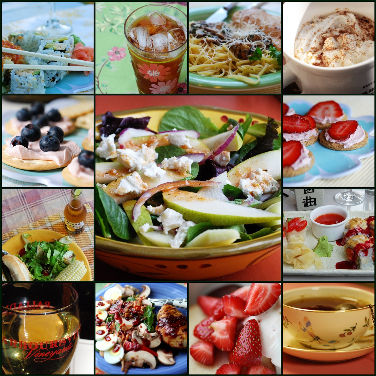 Mosaic Monday: Food & Drink