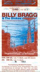 Konzertticket 42 - Billy Bragg 1998 (Analog Berliner) Tags: berlin concert ticket eintrittskarte 1998 konzert billybragg blokes woodyguthrie columbiahalle mermaidavenue
