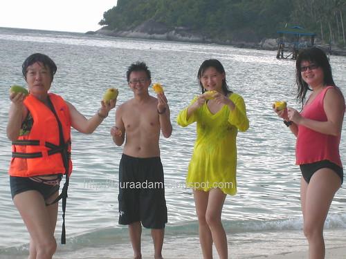 Sar chim, HJ, San & Yee