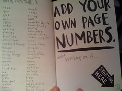 Number the pages