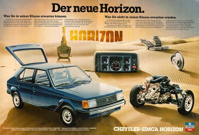 Chrysler Simca Horizon SX (1978)