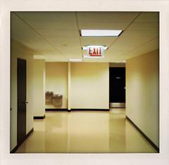 Exit (Colin Davis Studio) Tags: door building office hallway exit