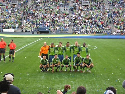 Sounders FC Starting Eleven