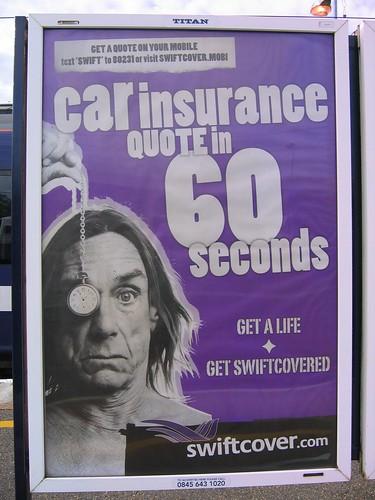 Iggy Pop / insurance