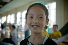 Happy face (Joony_Boy) Tags: children nursery north korea communism kimjongil northkorea pyongyang dprk kimilsung