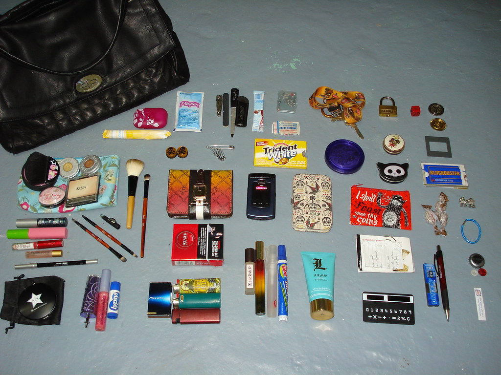 "New bag = new pic for ""What's in your bag?"""