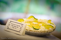 Key Lime Pie (Tim Jones Photography) Tags: pictures friends people food white texture smile cake pie photography book baking lemon photographer good great smooth smiles lot strawberries visit governor autograph patsy signing governess patsyrileyfirstladyalabamacakespiesfood