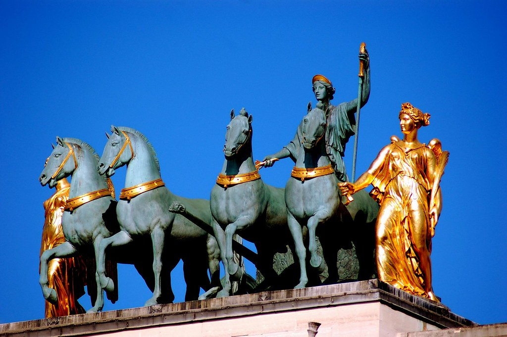 Arc de Triomphe du Carrousel, Paris 巴黎 騎兵凱旋門