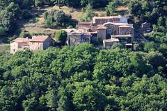 Hameau de Brugairolles (Gard, Cévennes)