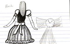 Steampunk Alice Design, Back