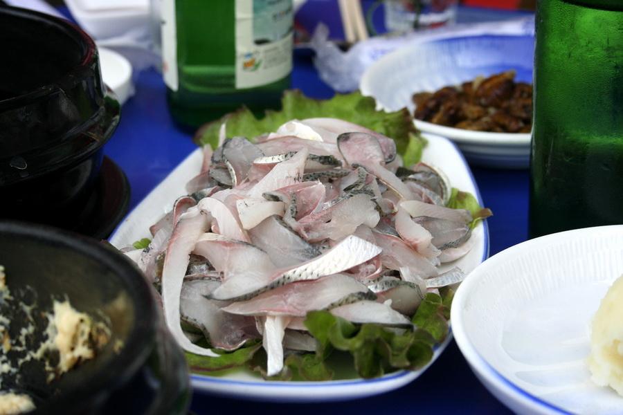 Jeon'o sashimi
