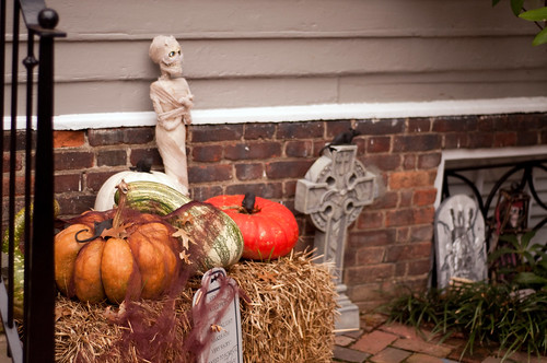 Tombstones and Pumpkins