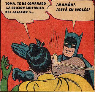 humor batman assasin´s