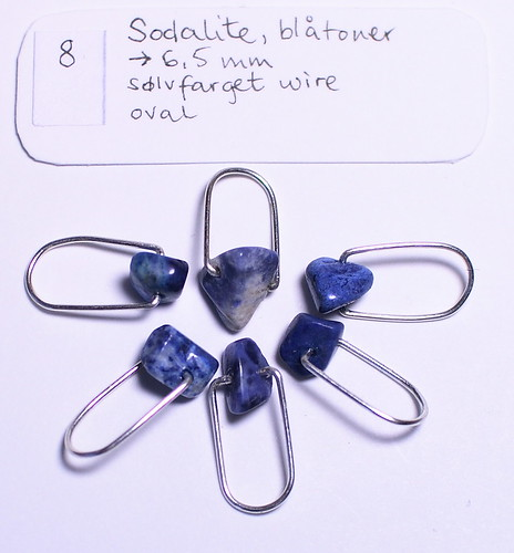Sodalite, 6,5mm, sølv, oval   IMG_0698