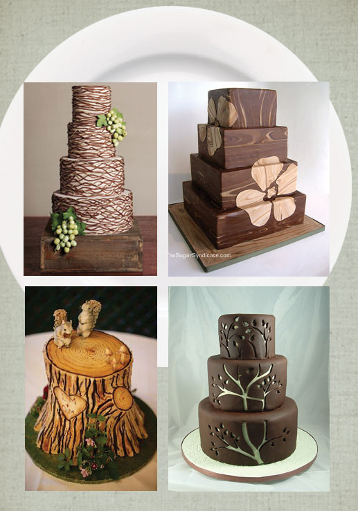 Wood you like some cake If you 39re stumped for wedding cake ideas we 39ve got