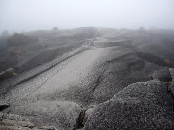 Rain and Fog on Mount Kinabalu