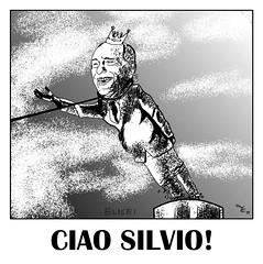 CIAO SILVIO! (francesco elisei LI) Tags: silvio berlusconi arcore berlu psiconano cainano amministrative2011 silvioperde