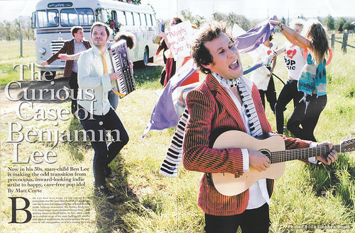Rolling Stone #688 March09 Ben Lee