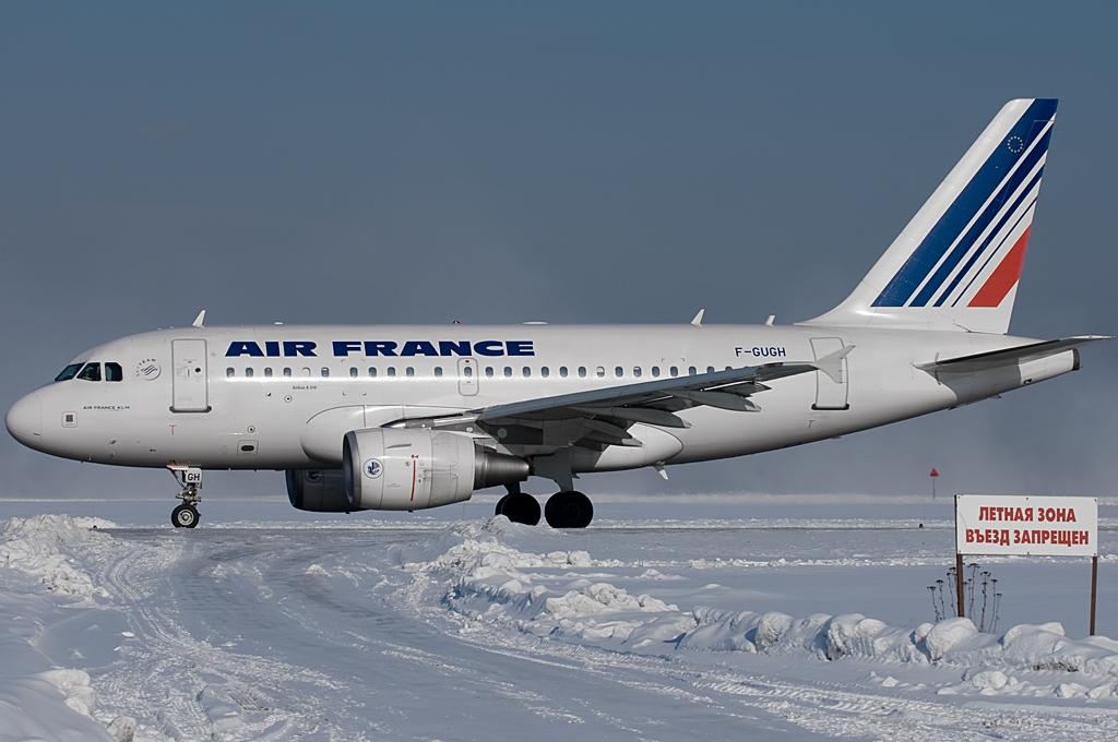 Air France F-GUGH Airbus A318-111