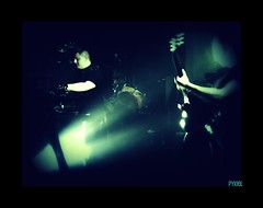 Pain Of Dolls (pyxiel) Tags: blue light music france rock dark drums industrial darkness arms bass lumire percussion smoke gothic goth band guitars son bleu sound electro keyboards electronic groupe 2009 indus cyber tambour cybergoth cyberpunk musique bras basse fume tnbres cybergothic darkwave electrodark lyonshall dollsofpain pyxiel