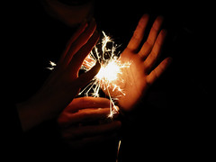 Hold the Light (ptg1975) Tags: light party fire hands hold  kartpostal
