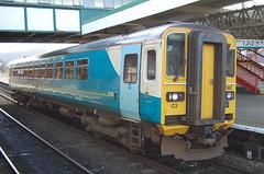 153362 Dylan Thomas (Elgan Thomas) Tags: wales train rail trains junction class british railways llandudno 175 arriva 153