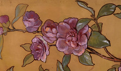flowers detail of biehle painting