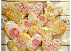 Valentine´s cookies 2006