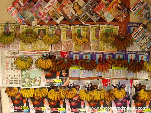 Bananas and Magazines