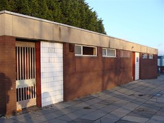 Former toilets, Park Road/High Park Street, Liverpool 8. March 2009. (philipgmayer) Tags: liverpool dingle toilet tesco demolished 1000 toxteth parkroad highparkstreet