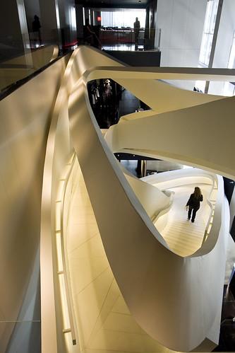 Armani stairs