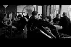 Una pregunta y un lugar (jlanta) Tags: madrid familia solitude loneliness gente interior comida restaurante beb together soledad socializing chatting nio ocio mesas globo juntos idling sobremesa grupos hablando vidacotidiana babycare ociosidad ventanales socializando pasandoelrato restosdecomida josluisanta aupandobeb cuidandobebs
