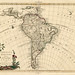 Historic map of South America (1785)