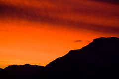 Sky on Fire (Irena Portfolio) Tags: sunsets banff cubism golddragon mywinners diamondclassphotographer citrit theperfectphotographer rubyphotographer